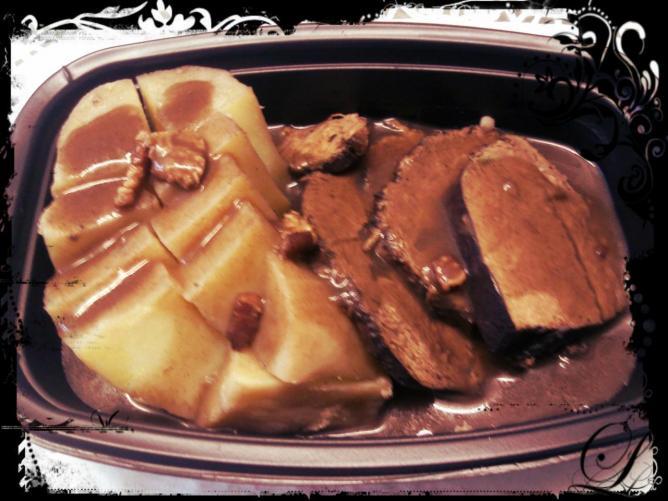 Paleron de boeuf sauce au vin de cahors pommes vapeur la - Cuisiner le paleron de boeuf ...